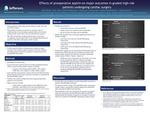 Effects of preoperative aspirin on major outcomes in graded high-risk patients undergoing cardiac surgery by Qian Ding, Eric Yuen, Mark Berguson, Hong Liu, Linong Yao, Jordan E. Goldhammer, and Jianzhong Sun