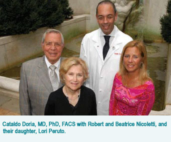 Dr. Doria and the Nicoletti family