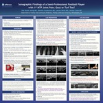 Sonographic Findings of a Semi-Professional Football Player with 1st MTP Joint Pain: Gout or Turf Toe? by David Jeong, MD, CAQSM, CEP, RMSK; Danielle Snyderman, MD; Lauren Hersh, MD; and Jeremy Close, MD