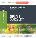 Spine surgery by Alexander R. Vaccaro