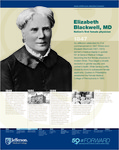 Elizabeth Blackwell, MD Nation's First Female Physician