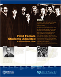 First Female Students Admitted to Jefferson Medical College by Michael Angelo and Matt Varrato