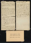 Notes on Arguments for a Charter for the Jefferson Medical College by George McClellan, MD
