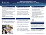 The Jefferson Teamwork Observation Guide: Reliability and Validity for Use in Education and Practice by June Andrews Horowitz,; Elizabeth T. Speakman, EdD, RN, FNAP, ANEF; and Shoshana Sicks, MEd
