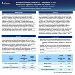 Activated Clotting Time (ACT): Comparison of the Hemochron Signature Elite and the Abbott i-STAT