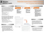 Standardized Consent Forms for Surgical Procedures: An Intervention to Improve the Resident-led Informed Consent Process by C. Hodge, N. Sich, T. Olszewski, A. Rogers, R. Josloff, and K. Noonan