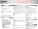 Tracking and Improving Bedside Procedures Through Standardized Documentation by N. Sich, L. Gartner, J. Sternlieb, and K. Noonan