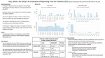Hey, What's the Delay? An Evaluation of Reporting Time for Pediatric EEGs by Aparna Polavarapu, MD; Rachit Patil, MD; and Maromi Nei, MD
