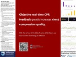 We Got the Beat: Improving CPR Quality with Real-Time Metrics by Juergen Kloo, MD; Frances Mae West, MD; and Michael Haviland, RN, BSN