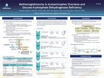 Methemoglobinemia in Acetaminophen Overdose and Glucose-6-phosphate Dehydrogenase Deficiency