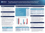 The incidence and severity of drug interactions before and after antiretroviral therapy simplification in treatment experienced patients with HIV Infection by Aleena Santana, PharmD Candidate; Nick Hastain, PharmD Candidate; and Jason J. Schafer, PharmD, MPH, BCPS, AAHIVP