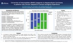 Conversion of Intermediate LIRADS Categories to Hepatocellular Carcinoma in patients with Chronic Hepatitis B: Korean Immigrant Experience by Kofi-Buaku Atsina, MD; Zhenteng Li, MD; and Sandeep Deshmukh, MD