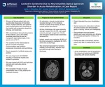 Locked-In Syndrome Due to Neuromyelitis Optica Spectrum Disorder in Acute Rehabilitation: A Case Report by James J. Bresnahan, MD; Summer Schultz, MD; and Mithra B. Maneyapanda, MD