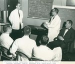 Robert I. Wise with students